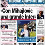 """Corriere dello Sport: """"Con Mihajlovic una grande Inter"""""""