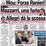Corriere dello Sport: Mou, forza Ranieri