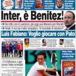 Corriere dello Sport: Inter, è Benitez!