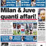 Corriere dello Sport: Milan & Juve, quanti affari!