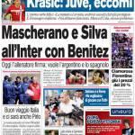 Corriere dello Sport: Mascherano e Silva all'Inter con Benitez