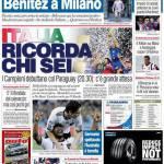 """Corriere dello Sport: """"Italia, ricorda chi sei"""""""