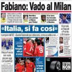 """Corriere dello Sport: Fabiano """"Vado al Milan"""""""