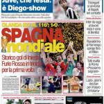 """Corriere dello Sport: """"Spagna Mondiale"""""""