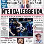 Corriere dello Sport: Inter da leggenda!