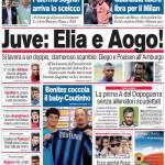 Corriere dello Sport: Juve, Elia e Aogo!