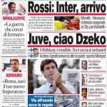 Corriere dello Sport: Juve, ciao Dzeko