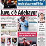 Corriere dello Sport: Juve, c'è Adebayor