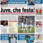 Corriere dello Sport: Juve, che festa!