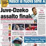 Corriere dello Sport: Juve-Dzeko assalto finale