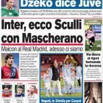 Corriere dello Sport: Inter, ecco Sculli con Mascherano