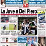 Corriere dello Sport: La Juve è Del Piero