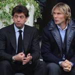 Juventus, Nedved ufficialmente nel CDA