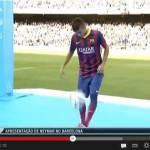 Video – Camp Nou gremito per la presentazione di Neymar: ecco le prime immagini al Barcellona