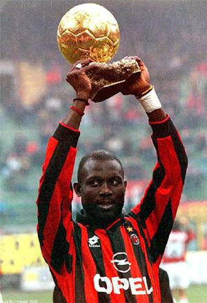 pallone d'oro weah