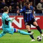 Champions League, Inter-Tottenham: Pandev recupera, forse anche Cambiasso