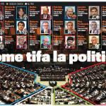 Come tifa la politica? La Juve ha la maggioranza, Letta a capo dei milanisti, gli interisti invece…
