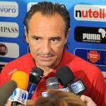 """Italia-Far Oer 5-0, Prandelli: """"Non era facile. Cassano ha fatto vedere quello che sa fare"""""""