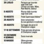 Foto – Juventus, ecco il calendario della preparazione estiva: quanti impegni per gli uomini di Conte!