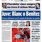Tuttosport: Juve, Blanc o Benitez