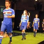 Serie A, presentate le nuove maglie della Sampdoria