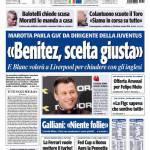 "Tuttosport: ""Benitez scelta giusta"""