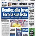 Tuttosport: Benitez alla Juve, ecco la sua lista