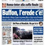 Tuttosport: Buffon, l'erede c'è