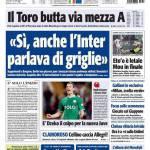 """Tuttosport: """"Si, anche l'Inter parlava di griglie"""""""