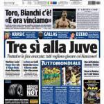 Tuttosport: Tre si alla Juve!