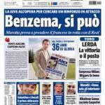 Tuttosport: Benzema, si può