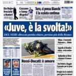 "Tuttosport: ""Juve, è la svolta"""