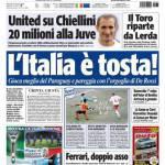 Tuttosport: L'Italia è tosta!