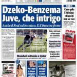 Tuttosport: Dzeko-Benzema, che intrigo!