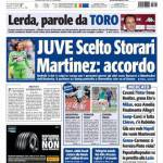 Tuttosport: Juve, scelto Storari, Martinez-accordo!