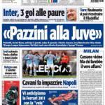 """Tuttosport: """"Pazzini alla Juve"""""""