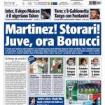 Tuttosport: Martinez! Storari! Juve ora Bonucci
