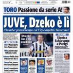 Tuttosport: Juve, Dzeko è lì
