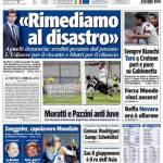 """Tuttosport: """"Rimediamo al disastro"""""""