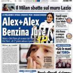 Tuttosport: Alex+Alex, benzina Juve