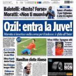 Tuttosport: Ozil, entra la Juve!