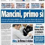 Tuttosport: Mancini, primo si!