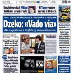 """Tuttosport: Dzeko """"Vado via"""""""