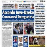 Tuttosport: Accordo Juve-Dzeko, Camoranesi-Trezeguet via