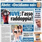 Tuttosport: Juventus, l'asso raddoppia