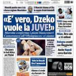 "Tuttosport: ""E' vero, Dzeko vuole la Juve!"""