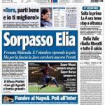 Tuttosport: Sorpasso Elia