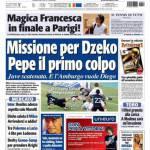 Tuttosport: Missione per Dzeko, Pepe il primo colpo