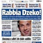 Tuttosport: Rabbia Dzeko!