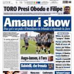 Tuttosport: Amauri show